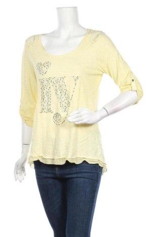 Γυναικεία μπλούζα Tredy, Μέγεθος S, Χρώμα Κίτρινο, Τιμή 3,86€
