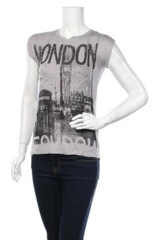 Γυναικεία μπλούζα Vert De Rage, Μέγεθος M, Χρώμα Γκρί, 94% βισκόζη, 6% ελαστάνη, Τιμή 1,59€