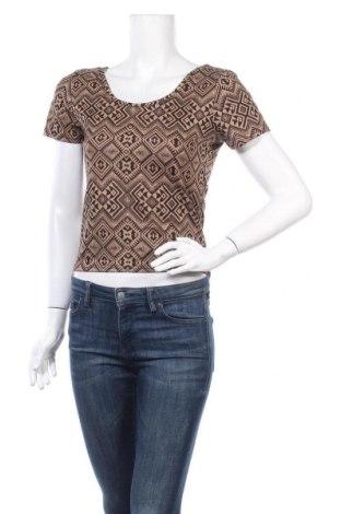 Γυναικεία μπλούζα Vert De Rage, Μέγεθος M, Χρώμα  Μπέζ, 96% πολυεστέρας, 4% ελαστάνη, Τιμή 1,59€