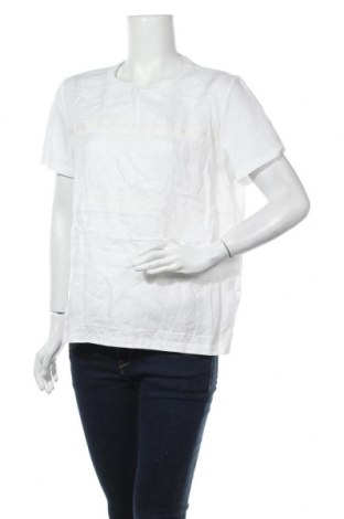 Дамска блуза Weekend Max Mara, Размер XL, Цвят Бял, 94% памук, 6% еластан, Цена 143,40лв.