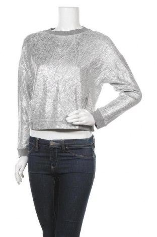 Дамска блуза Whistles, Размер S, Цвят Сив, Памук, Цена 36,86лв.