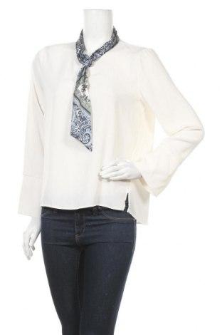 Дамска блуза Zara, Размер L, Цвят Бял, Цена 20,79лв.