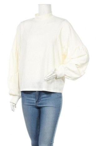 Γυναικεία μπλούζα Zara, Μέγεθος M, Χρώμα Εκρού, 98% πολυεστέρας, 2% ελαστάνη, Τιμή 15,77€