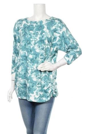 Дамска блуза Zavanna, Размер L, Цвят Зелен, 97% полиестер, 3% еластан, Цена 20,48лв.