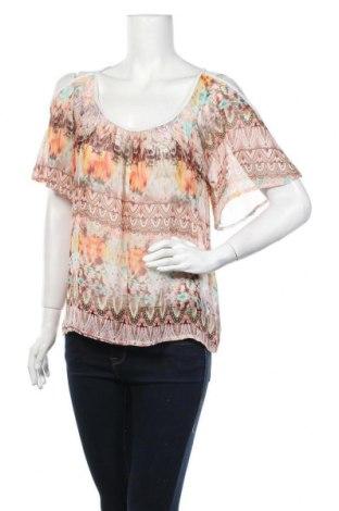 Дамска блуза Zebra, Размер M, Цвят Многоцветен, Полиестер, Цена 5,04лв.