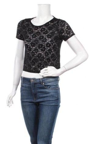 Дамска блуза Zebra, Размер M, Цвят Черен, Полиестер, Цена 4,46лв.