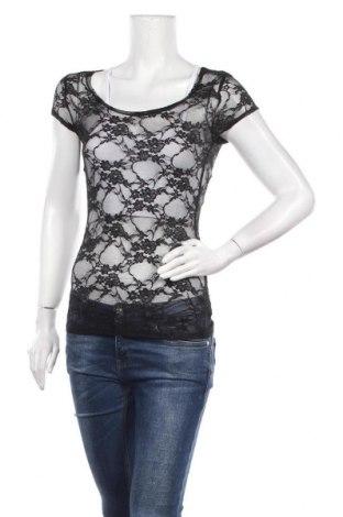 Дамска блуза Zenana Outfitters, Размер M, Цвят Черен, 90% полиамид, 10% еластан, Цена 10,24лв.