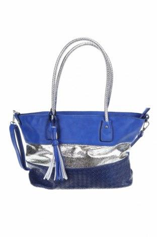 Дамска чанта, Цвят Син, Еко кожа, Цена 22,84лв.