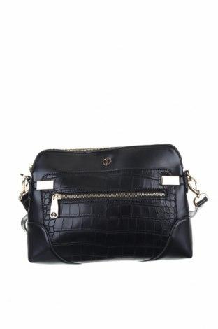 Дамска чанта, Цвят Черен, Еко кожа, Цена 33,60лв.