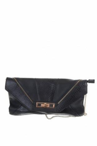 Γυναικεία τσάντα, Χρώμα Μαύρο, Δερματίνη, Τιμή 9,29€