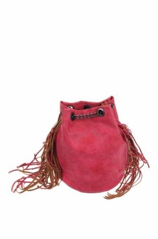 Γυναικεία τσάντα, Χρώμα Ρόζ , Δερματίνη, Τιμή 22,21€