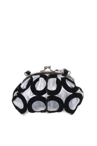Дамска чанта, Цвят Сив, Еко кожа, текстил, Цена 20,48лв.