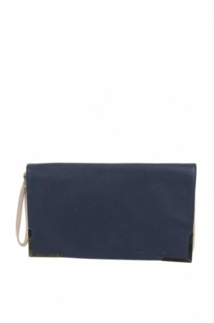 Дамска чанта Atmosphere, Цвят Син, Еко кожа, Цена 16,38лв.
