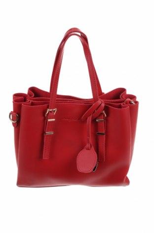 Дамска чанта Beverly Hills Polo Club, Цвят Червен, Еко кожа, Цена 53,00лв.