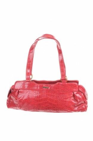Γυναικεία τσάντα Diana Ferrari, Χρώμα Κόκκινο, Δερματίνη, Τιμή 13,18€