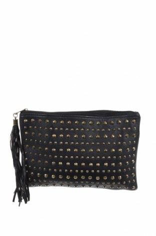 Дамска чанта Forever 21, Цвят Черен, Еко кожа, Цена 21,32лв.