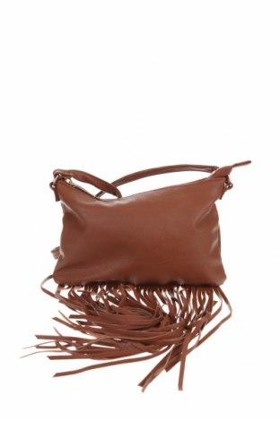 Дамска чанта H&M, Цвят Кафяв, Еко кожа, Цена 22,52лв.