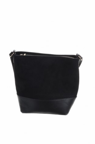 Γυναικεία τσάντα H&M, Χρώμα Μαύρο, Κλωστοϋφαντουργικά προϊόντα, δερματίνη, Τιμή 20,13€