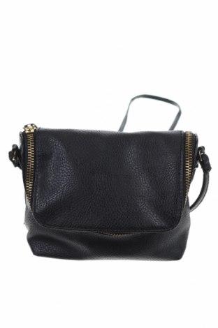 Дамска чанта H&M, Цвят Черен, Еко кожа, Цена 25,20лв.