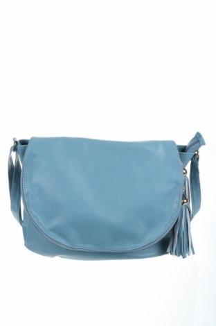 Γυναικεία τσάντα Infinity, Χρώμα Μπλέ, Δερματίνη, Τιμή 18,19€