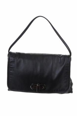 Γυναικεία τσάντα Massimo Dutti, Χρώμα Μαύρο, Γνήσιο δέρμα, Τιμή 64,92€