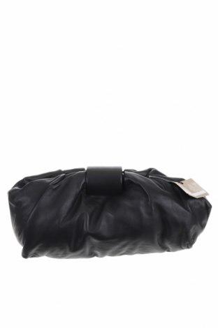 Дамска чанта Massimo Dutti, Цвят Черен, Естествена кожа, Цена 89,57лв.