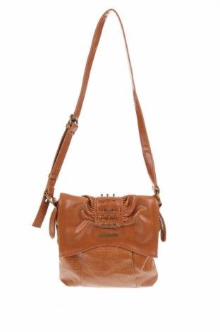 Дамска чанта Matt & Nat, Цвят Кафяв, Еко кожа, Цена 40,43лв.