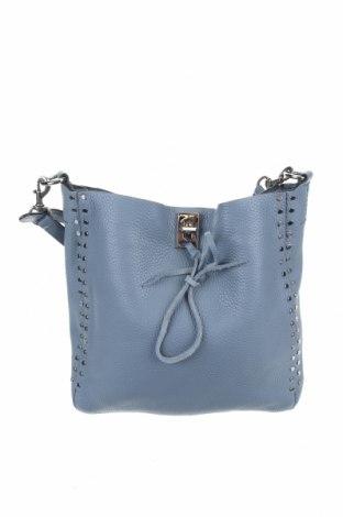 Γυναικεία τσάντα Rebecca Minkoff, Χρώμα Μπλέ, Γνήσιο δέρμα, Τιμή 57,80€