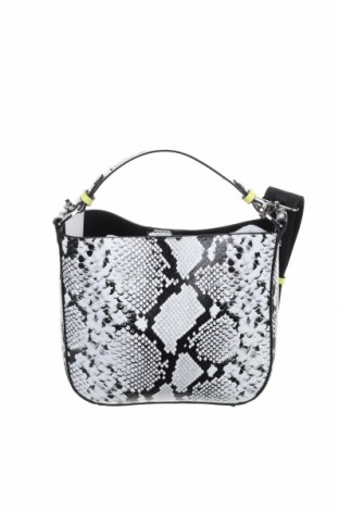 Дамска чанта Zara, Цвят Черен, Еко кожа, текстил, Цена 48,30лв.
