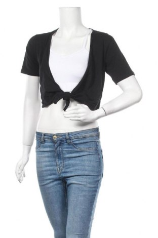 Дамска жилетка Boule..., Размер M, Цвят Черен, 92% памук, 8% еластан, Цена 4,99лв.
