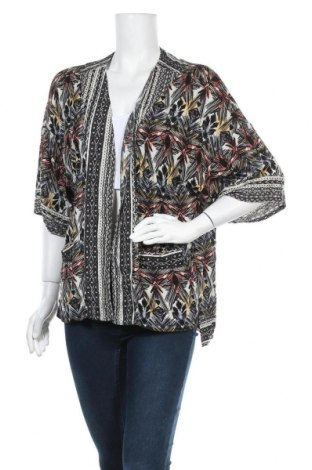 Дамска жилетка Gina, Размер XL, Цвят Многоцветен, Вискоза, Цена 6,30лв.