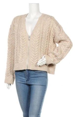 Γυναικεία ζακέτα H&M, Μέγεθος S, Χρώμα  Μπέζ, 85%ακρυλικό, 15% μαλλί, Τιμή 23,51€
