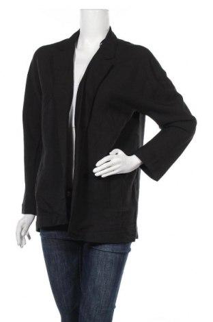 Дамска жилетка H&M, Размер M, Цвят Черен, 66% модал, 34% полиестер, Цена 7,64лв.