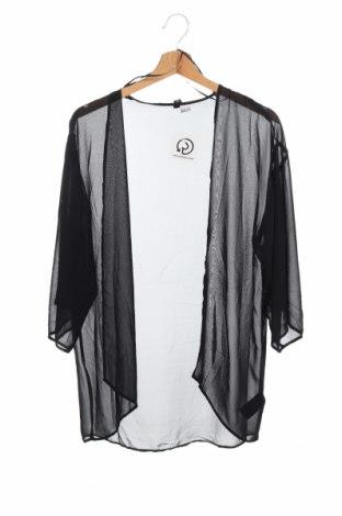 Дамска жилетка H&M Divided, Размер XS, Цвят Черен, 100% полиестер, Цена 7,09лв.