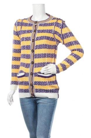 Дамска жилетка Kling, Размер S, Цвят Жълт, Акрил, Цена 23,60лв.
