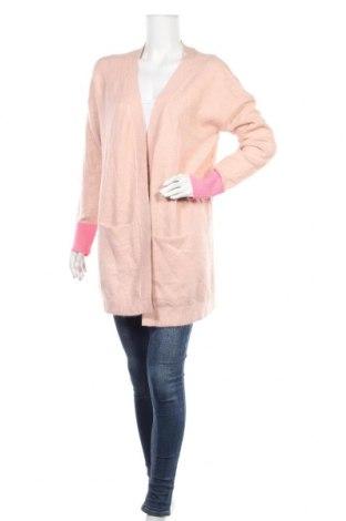Дамска жилетка Q/S by S.Oliver, Размер M, Цвят Розов, 73% акрил, 24% полиестер, 3% еластан, Цена 23,20лв.