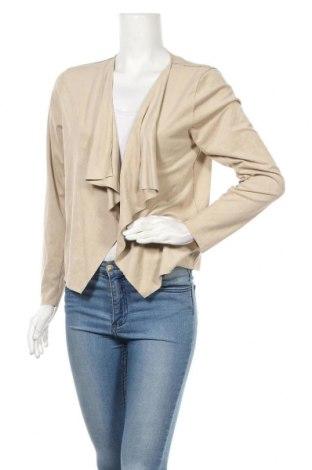 Γυναικεία ζακέτα Soya Concept, Μέγεθος L, Χρώμα  Μπέζ, 95% πολυεστέρας, 5% ελαστάνη, Τιμή 5,46€