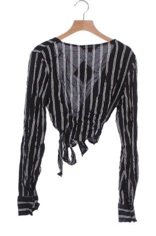 Дамска жилетка Tally Weijl, Размер XS, Цвят Черен, Вискоза, Цена 7,72лв.