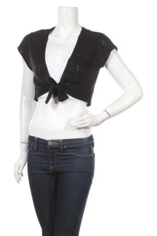 Дамска жилетка Tom Tailor, Размер L, Цвят Черен, 50% памук, 50% полиакрил, Цена 3,00лв.
