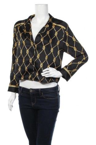 Дамска жилетка Zara Trafaluc, Размер M, Цвят Черен, Полиестер, Цена 27,30лв.