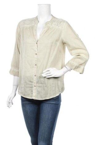 Дамска риза, Размер M, Цвят Зелен, Памук, Цена 7,14лв.