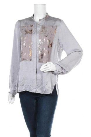Дамска риза, Размер L, Цвят Сив, Цена 10,97лв.