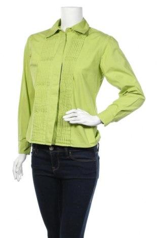 Дамска риза, Размер S, Цвят Зелен, Памук, Цена 6,25лв.