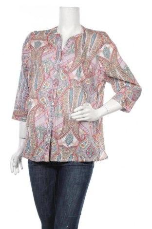 Дамска риза, Размер L, Цвят Многоцветен, Памук, Цена 5,88лв.