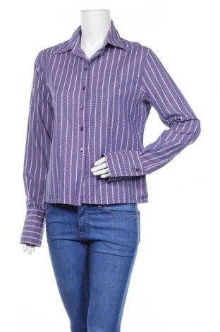 Дамска риза Adolfo Dominguez, Размер XL, Цвят Лилав, Памук, Цена 33,00лв.