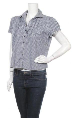 Γυναικείο πουκάμισο Armand Thiery, Μέγεθος L, Χρώμα Μπλέ, 60% βαμβάκι, 40% πολυεστέρας, Τιμή 3,41€