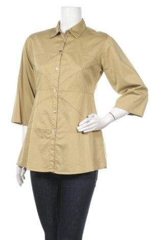 Γυναικείο πουκάμισο Bitte Kai Rand, Μέγεθος S, Χρώμα Πράσινο, 70% βαμβάκι, 27% πολυαμίδη, 3% ελαστάνη, Τιμή 3,64€