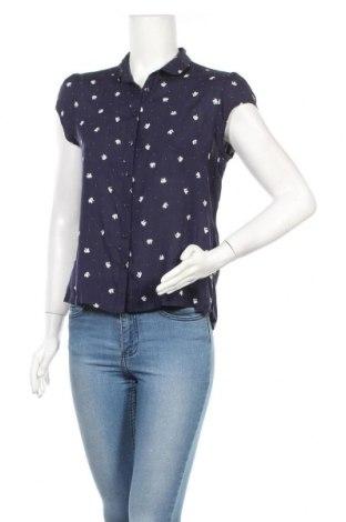 Γυναικείο πουκάμισο Clockhouse, Μέγεθος M, Χρώμα Μπλέ, Βισκόζη, Τιμή 11,69€