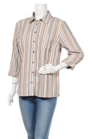 Дамска риза Collection L, Размер L, Цвят Многоцветен, 98% полиестер, 2% еластан, Цена 5,67лв.