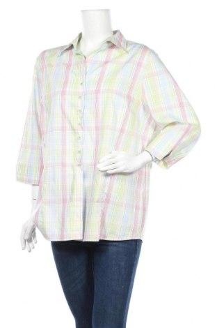 Дамска риза Eterna  Excellent, Размер XL, Цвят Многоцветен, Памук, Цена 5,67лв.